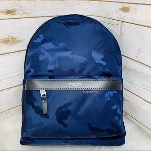 Kent indigo camo backpack Michael Kors blue bag